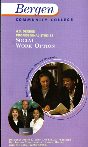 cover of Social Work AS Flyer