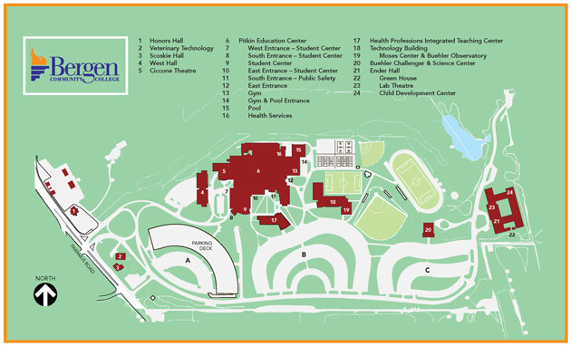 Paramus Campus Map