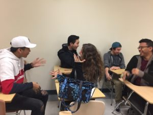 Students in Learning Communities Have Fun in Class
